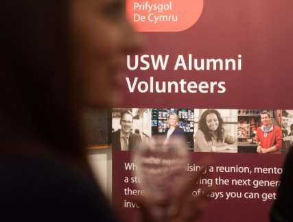 USW Alumni volunteers