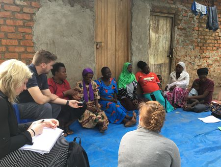 MSc Disaster Healthcare students on a recent trip to Uganda