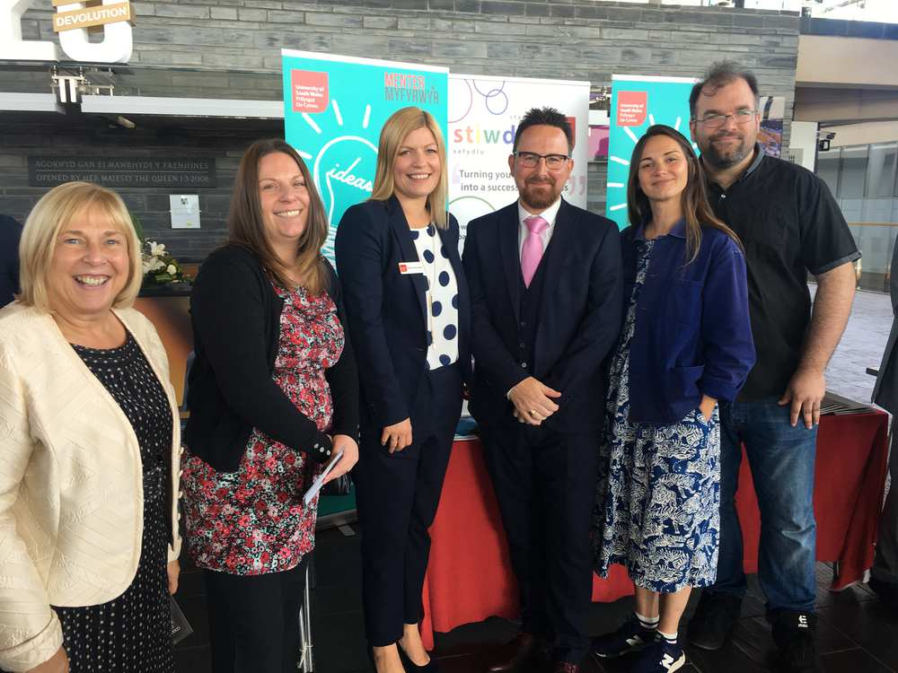 Universities Wales graduate start-ups event