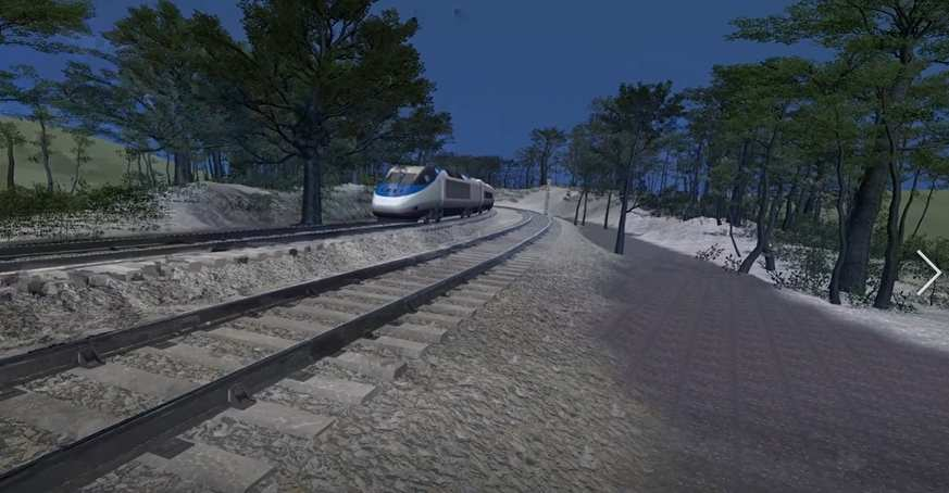 PM Training and CEMET. VR training for rail engineers