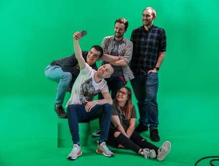 VFX Students Green Screen
