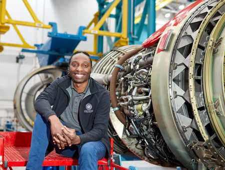 Wayne Kwenda, AME graduate and GE employee.jpg