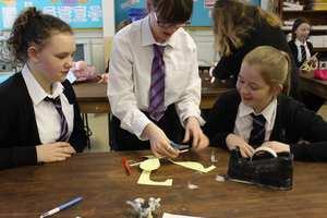 Louise Evans, Engineering,Lewis Girls Engineering workshop - Louise Evans