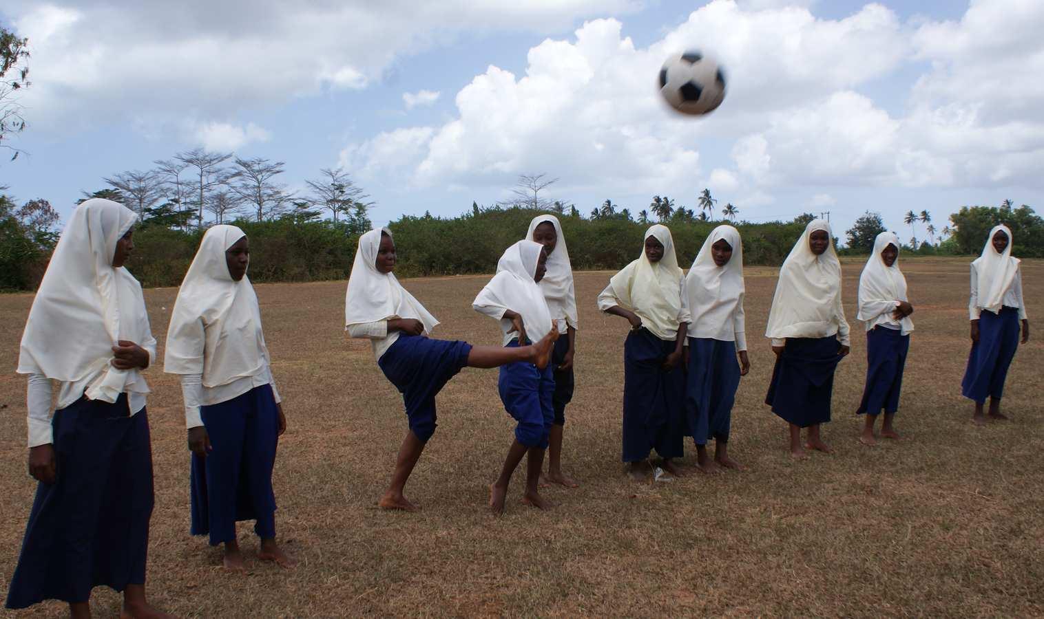 Zanzibar Soccer Queens. Still images from the film. Neil Gibson