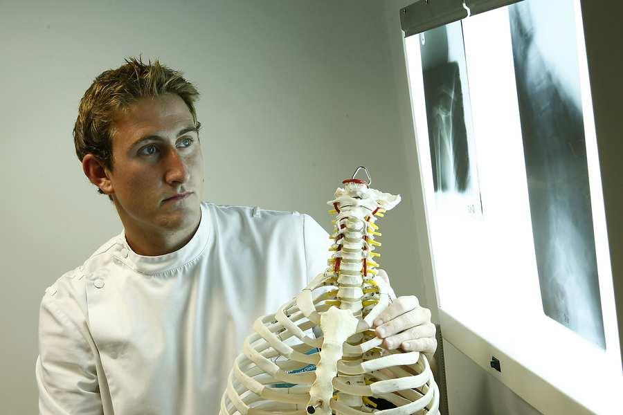 Chiropractic student