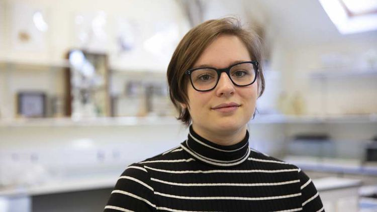 Abbie Tattersfield, Forensic Science student