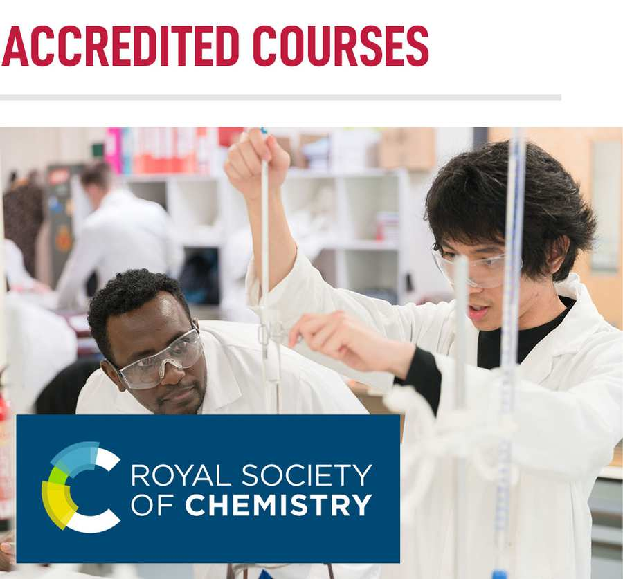 Accredited Courses - Chemical and Pharmaceutical Sciences