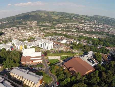Pontypridd Campus Aerial