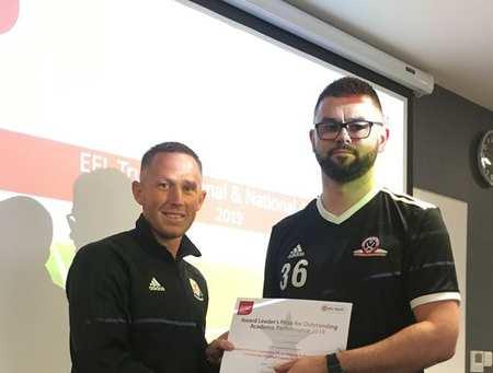 Andy Kempson Community Football Coaching Graduate