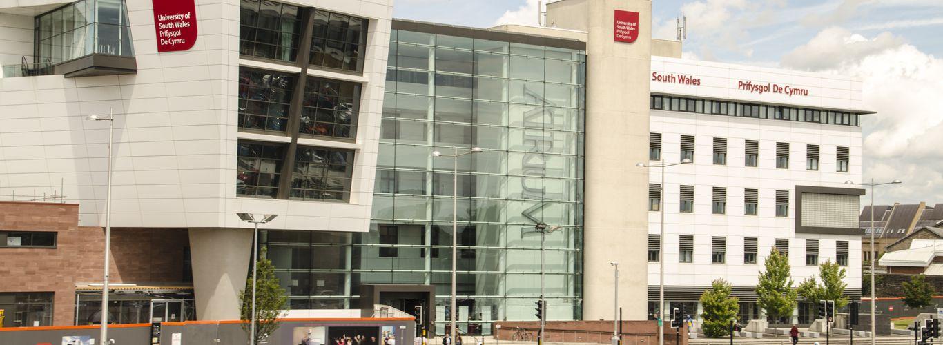 ATRiuM Building at the Cardiff Campus