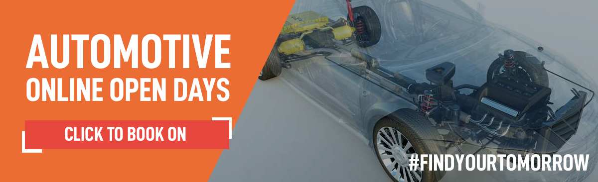 Automotive Engineering Online Open Day