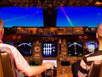 Boeing 747 Simulator