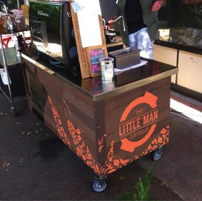 Coffee cart mock up by Ellie Hajas, Ana Tovkun and Erin Fletcher