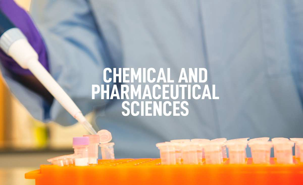 Chemical and Pharmaceutical Sciences Courses Banner
