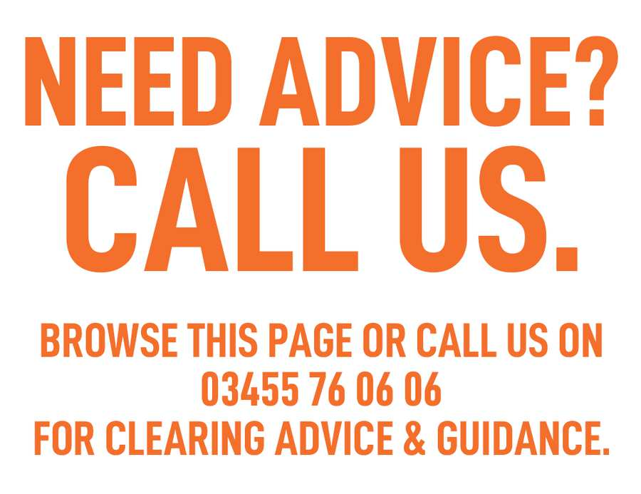 Clearing Phone Number - Clearing University of South Wales