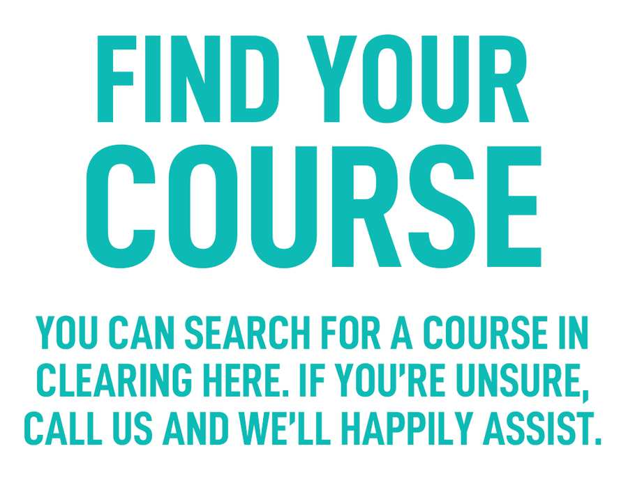 Clearing Courses - Clearing University of South Wales
