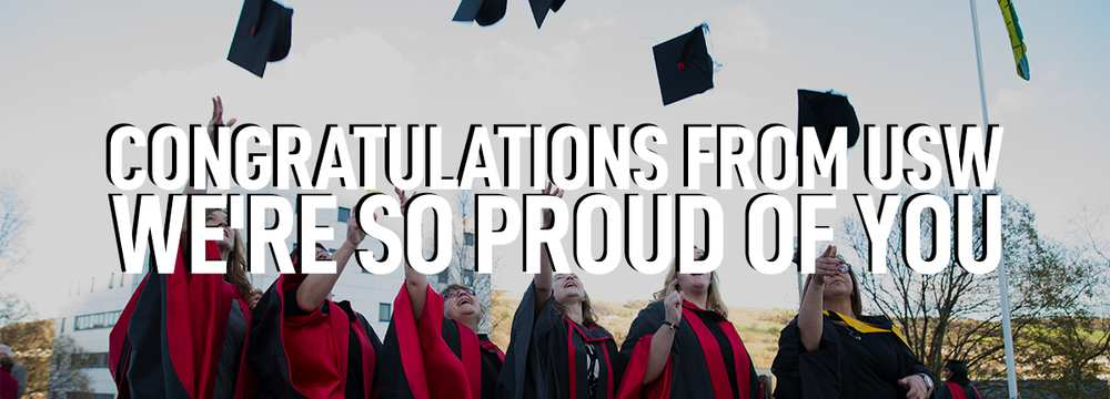 Virtual Grad Celebrations - Congratulations Banner