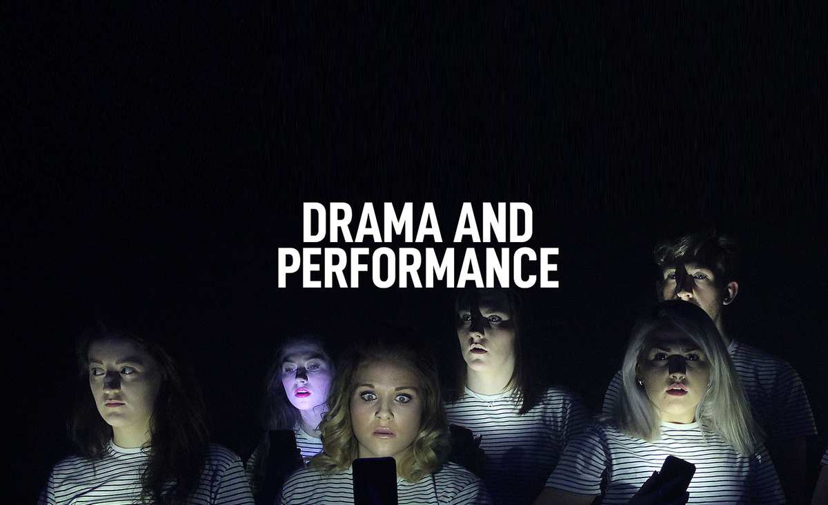 Drama and Performance Courses Banner