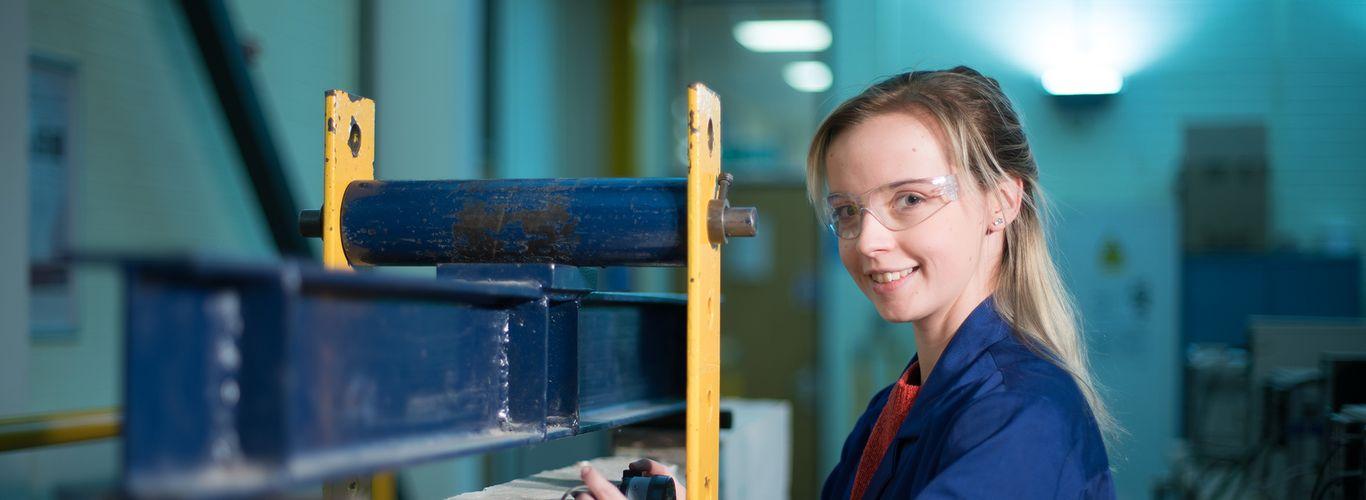 Abigail Morgan, Civil Engineering student