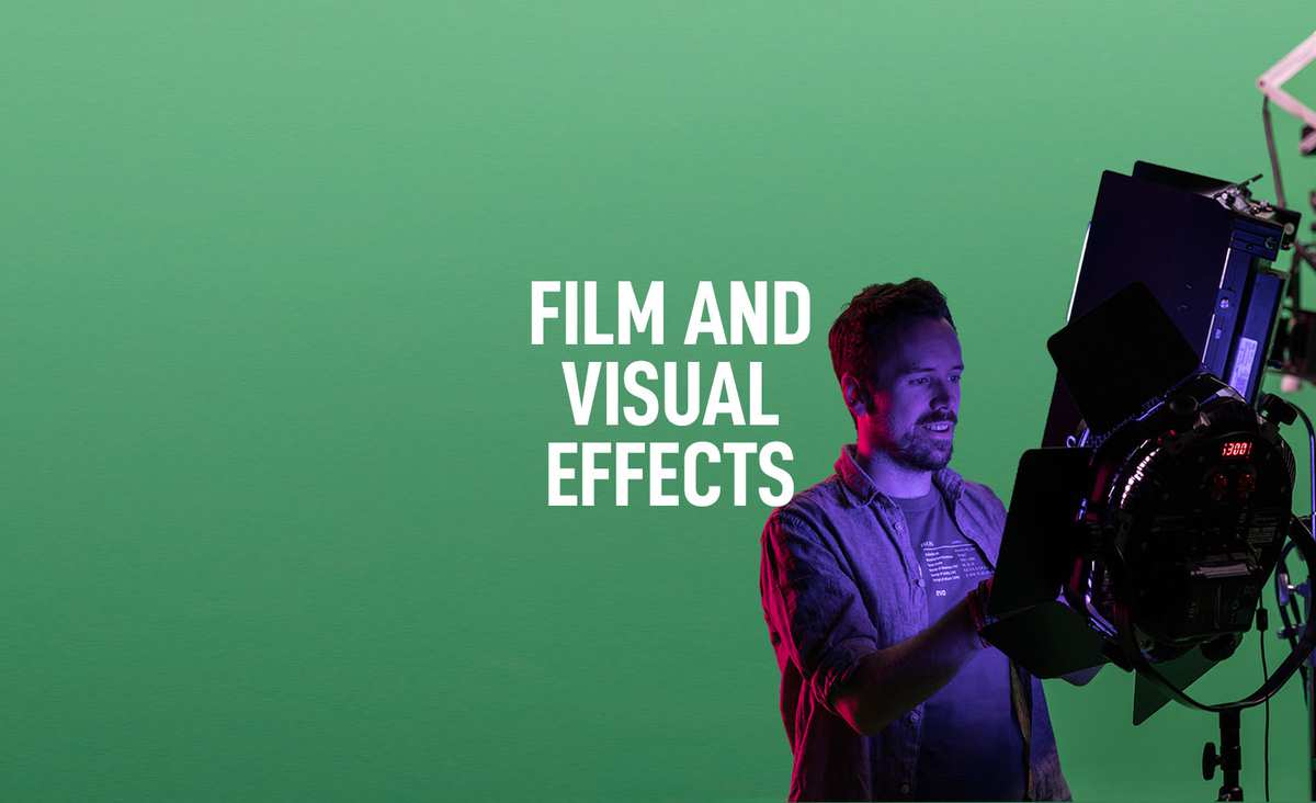 Film and Visual Effects Courses Banner