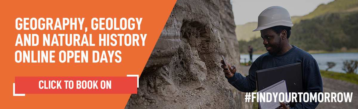 Geography Geology Natural History Online Open Days