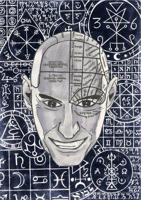 Work by Owain Baker, BA (Hons) Illustration student