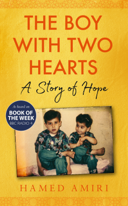 USW alumni Hamed Amiri, author of A Boy with Two Hearts