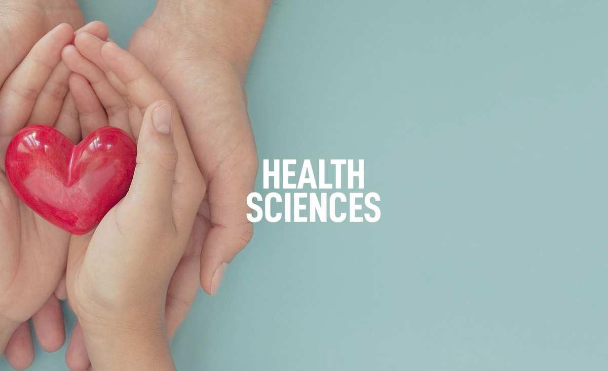 Health Sciences Courses Banner