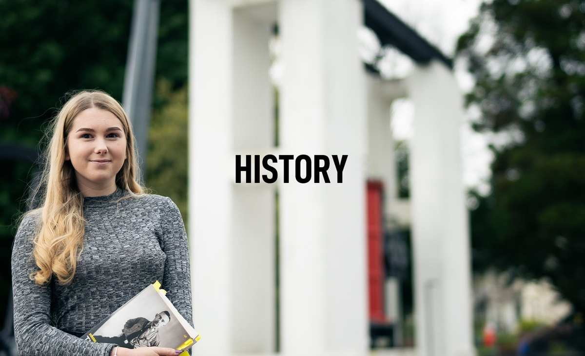 History Courses Banner