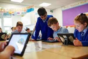 digital education classroom