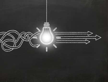 Professional Development Light bulb