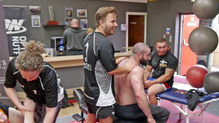 Daniel Morgan, Chiropractic graduate