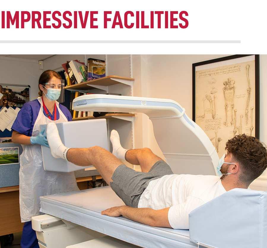 Learn In Impressive Facilities - Chiropractic