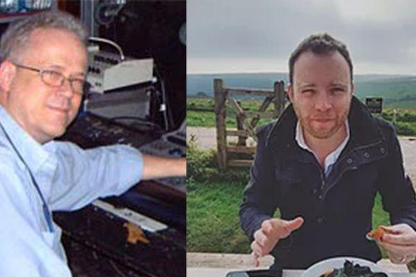 Left; Bernie Davis, Right; David Bishop