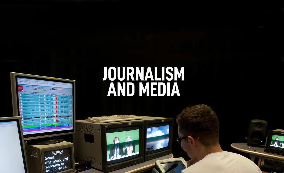 Journalism and Media Courses Banner