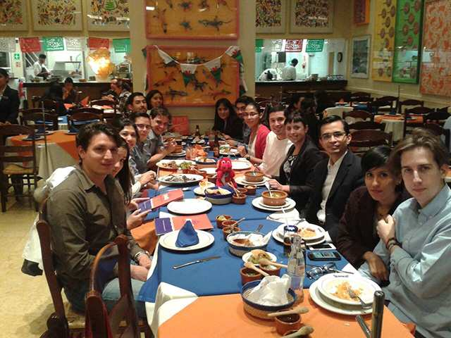 Alumni Dinner in Mexico City - 2014