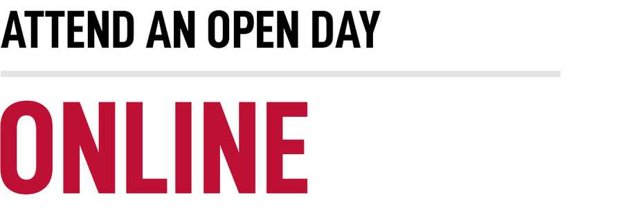 Attend An Online Open Day - Title Image