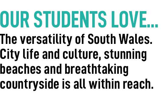 our students love - cardiff