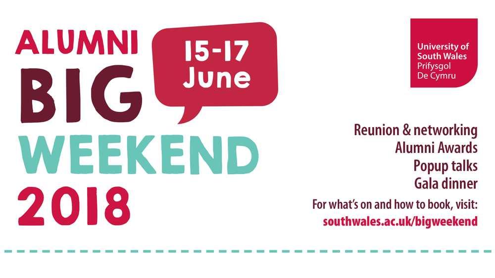 Alumni Big Weekend 2018 header