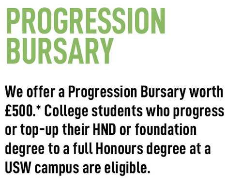 progression bursary