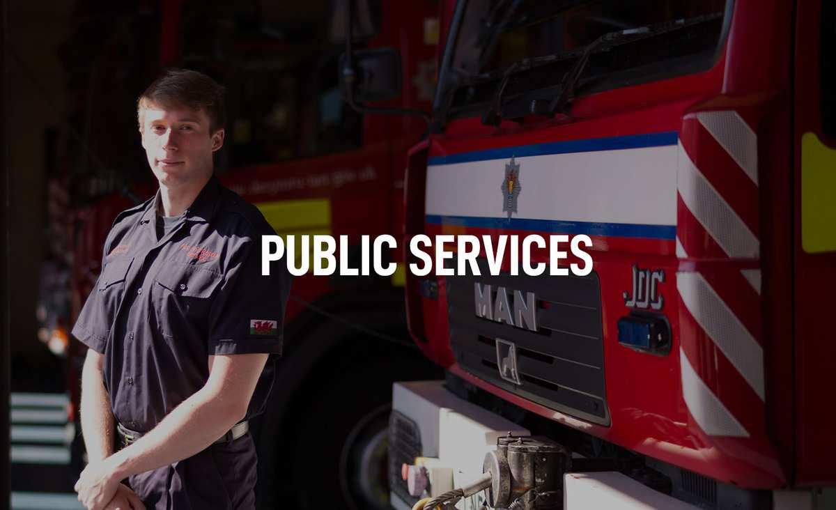 Public Services Courses Banner