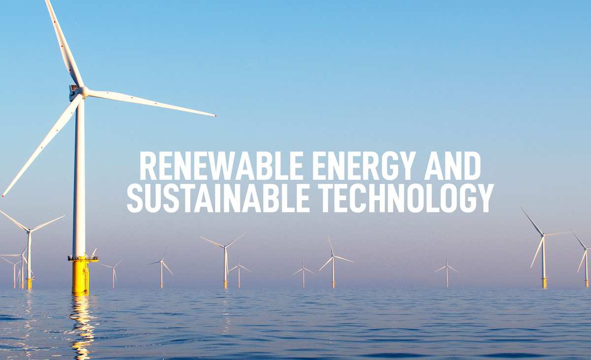 Renewable Energy and Sustainable Technology Courses Banner