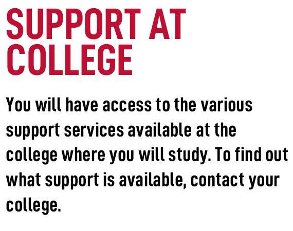 college support