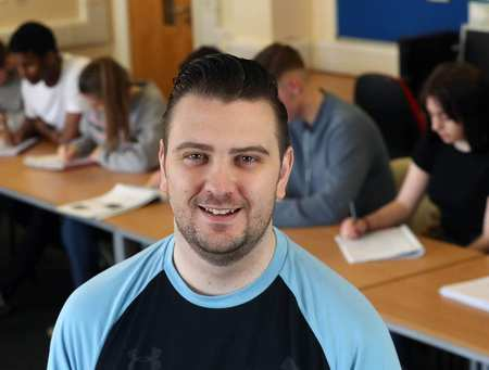 Tom Jones, Armed Forces scheme and MSc Health and Public Services Management student