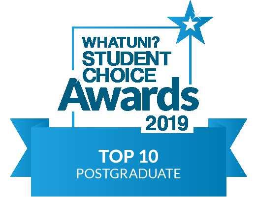 WhatUni Top 10 Postgraduate