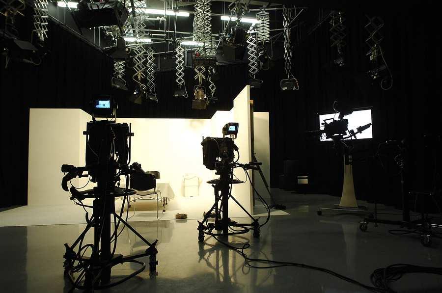 TV studio at Cardiff campus